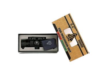 Коллиматорный прицел Leapers UTG 1x34 на Weaver/Picatinny, быстросъемный, полноразмерный, SCP-DS3068W