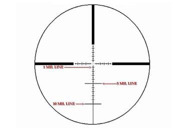 Оптический прицел IOR Valdada 4-14x50 30mm Tactical  с подсветкой (MP-8 DOT)