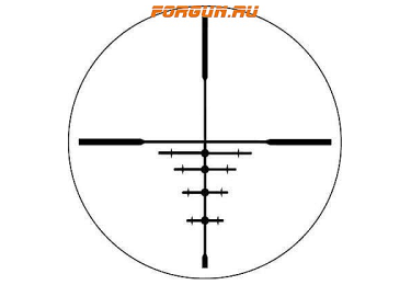 Оптический прицел Bushnell Trophy XLT 4-12x40mm матовый (DOA 600) 734120B