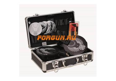 Магазин 12х76 барабанного типа псевдо 20 мест для Вепрь ВПО 205 12к с ограничителем на 7 патронов комплект Maxrounds PowerMag