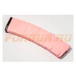 Магазин Pufgun на AR-15/M16/HK, 5.56х45 (.223Rem), 45 патронов, полимер, возможность укорочения, розовый, 175 г