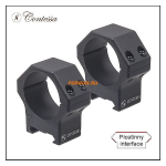 Кольца Contessa на Picatinny D30mm, высота BH 8mm, небыстросъемные, (LPR02/A)