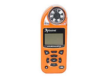 Ветромер Kestrel Elite LiNK Blaze Orange (Applied Ballistic, время, скорость ветра, температура воздуха, воды, WP, более 14 различных параметров) 0857ALBLZ