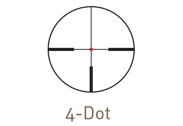 Оптический прицел Kahles CSX 1.1-4x24 с  шиной SR, с подсветкой (4-Dot)
