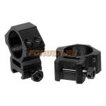 Кольца Leapers UTG 30 мм для установки на Weaver/Picatinny, средние, ширина 21 мм, RGWM-30M4