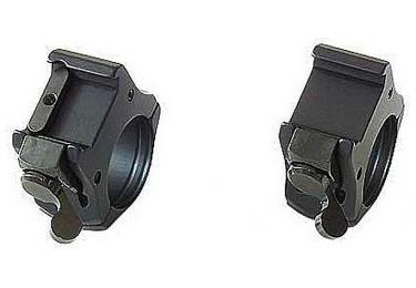 Кольца MAK  (34 мм) на Weaver, высота 21мм, средние, быстросьемные, 5850-3400