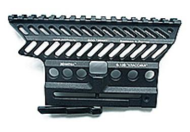 Кронштейн боковой быстросъемный с планкой weaver для Витязь Зенит Б-13В Классика