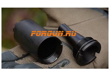 Дульный тормоз компенсатор (ДТК) 7,62/5,45/.223 для Сайга - МК и автоматы АК-74 всех модификаций с резьбой М24х1.5 Armacon Волк