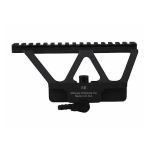 Кронштейн боковой быстросъемный с планкой  weaver для AK-47/74, Сайга, СВД Midwest Industries MI-AKSM