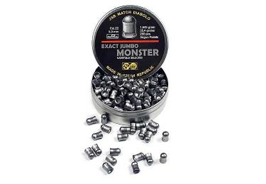 Пульки к пневматике 4.5 мм JSB Diabolo Exact Monster (.177), вес 0,870г, банка 400 шт