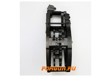 Магазин 12х76 барабанного типа псевдо 20 мест для Сайги 12к с ограничителем на 7 патронов Maxrounds PowerMag