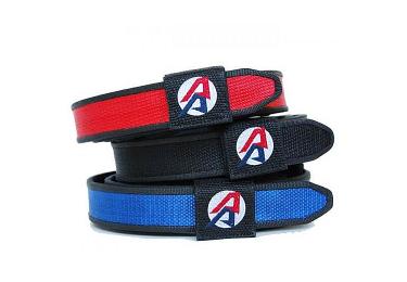 Ремень спортивный черный Double Alpha Academy Competition Belt (42)