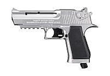 """Пневматический пистолет Baby Desert Eagle. Отделка """"никель"""" (Umarex)"""