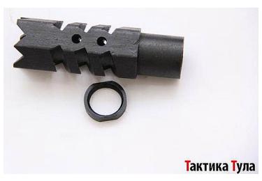 Дульный тормоз компенсатор (ДТК) .410 для Сайги Тактика Тула 20013