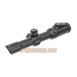 Оптический прицел Leapers UTG 1-8x28 30 mm, загонный, сетка Circle Dot с подсветкой SCP3-18IECDQ