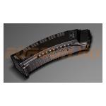 Магазин Pufgun на Сайга, 5.45х39, 60 патронов, полимер, черный, усилен