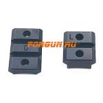 Основания Weaver для Mauser K98 Innomount 10-00-010, алюминий (черный)