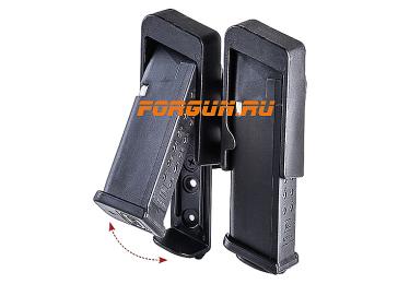 Паучер открытый для двух магазинов Glock кал. 9х19 мм, .40 CAA tactical RBDMP