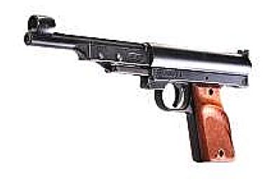 Пневматический пистолет Record LP1 черный (Umarex)
