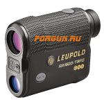 Лазерный дальномер Leupold RX-1600i TBR/W с DNA, черный/серый 173805