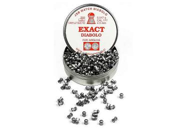 Пульки к пневматике 4.5 мм JSB Diabolo Exact (.177), вес 0,547г, банка 500 шт