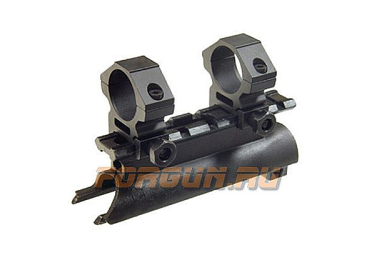 Кронштейн крышка для СКС с кольцами 25,4 мм, планка Weaver/Picatinny, Leapers UTG, MNT-642B