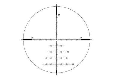 Оптический прицел IOR Valdada 6-24x50 35mm Tactical  с подсветкой (MP-8   XTREME-X1 MOA)