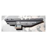 Кронштейн база вивер/пикатини (weaver) вместо штатного целика АК, Сайга, Вепрь К, Вепрь КМ - Кожевник 1 ARMACON Arms Devices