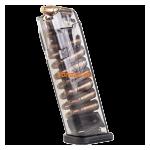 Магазин для пистолета Glock 17 - 9мм на 17 патронов ETS, прозрачный, GLK-17