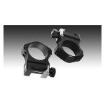 Кольца Nightforce Ultralight (30mm) на Picatinny средние (25.4mm) небыстросьемные, четыре винта A101