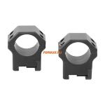 Кольца Contessa на Picatinny D26mm, высота BH 12mm, небыстросъемные, (LPR01/B)