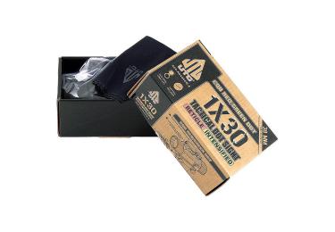 Коллиматорный прицел Leapers UTG 1x30 на Weaver/Picatinny, небыстросъемный, компактный, SCP-RD40RGW-A