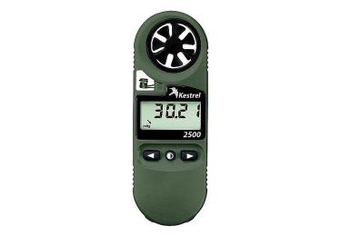 Ветромер Kestrel 2500 NV (время, скорость ветра, температура воздуха, воды, снега, барометрическое давление, высота над уровнем моря) 0825NV