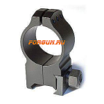 Кольца 30 мм на Weaver высота 16 мм Warne Tactical Extra High Matte, 616M, сталь (черный)