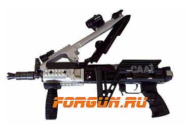 Кронштейн цевье для АКС-74У с 4 планками типа Picatinny CAA tactical XRS47SU, алюминий