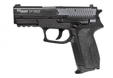 Пневматический пистолет Cybergun Sig Sauer 2022, метал, черный, 130 м/с, 288012