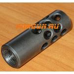 Дульный тормоз компенсатор (ДТК) .366 TKM для ВПО-208 (СКС), ВПО-209 (АКМ) Рысь Веер-208
