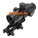 Оптический прицел Leapers UTG 4X32 T4 Prismatic на Weaver, сетка Mil-Dot, SCP-T4IEMDQ