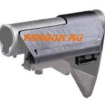 Подщечник для штатного телескопического приклада M4, AR15 с отсеком для батарей CAA tactical SST1, полимер, черный