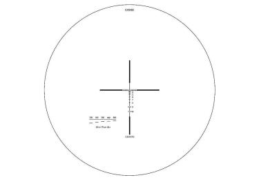 Оптический прицел Elcan Specter DR 1.5x-6x 5.56 сетка CX5455/CX5456 с подсветкой DFOV156C1