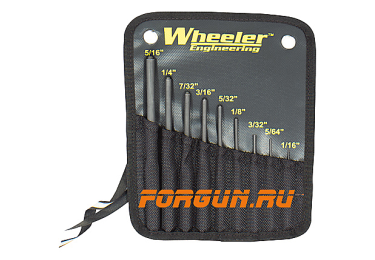 Набор выколоток Wheeler Engineering Roll Pin Punch Set, 204513