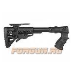 Приклад для Remington 870, телескопический, рукоятка, складной, щека, пластик, FAB Defense, FD-AGRF 870 FK CP