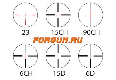 Оптический прицел Hakko 1.5-6x42 30мм Winner 3WIN-1564, с подсветкой