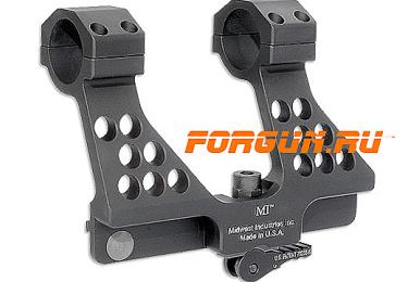 Кронштейн боковой быстросъемный с кольцами 25,4/30 мм для СВД, Тигр, СВДС Midwest Industries MI-SVD30SM