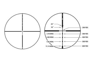 Оптический прицел Redfield Revenge 4-12x42, с баллистической системой Accu-Ranger (Hunter) 115216