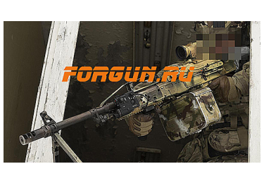 Дульный тормоз компенсатор (ДТК) 7,62 для Пулемета ПКП Печенег Зенит ДТК-1ПЧ