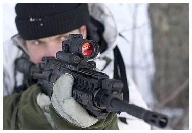 Коллиматорный прицел Aimpoint Comp M4-S Military (2 МОА)