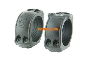 Кольца Spuhr Hunting D34мм H23mm на Blaser, c одним интерфейсом, небыстросьемные, HB40-23