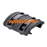 Накладка резиновая для планок Weaver/Picatinny, 4 штуки, Magpul XTM, MAG510