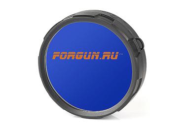_Светофильтр диффузор голубой для фонарей Olight T20 Tactical, T25 Tactical, M10 Maverick, M18 Maverick, S10 Baton, S15 Baton FT20-B
